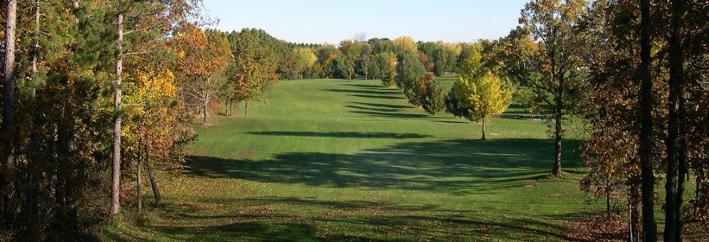 #6 fairway from tee, fall weather