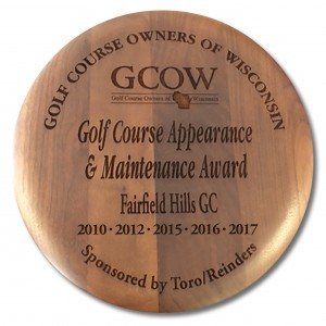 GCOW Maintenance & Appearance Award